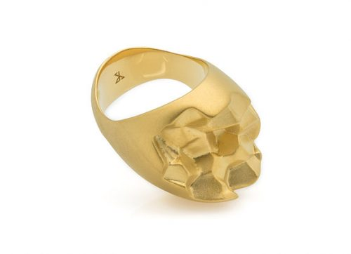 ROOK x GOLD ring side view