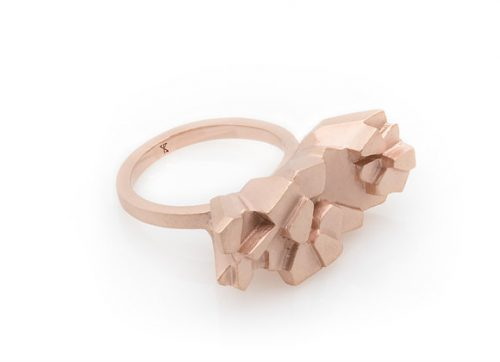 TEPUI x ROSE ring elegant design