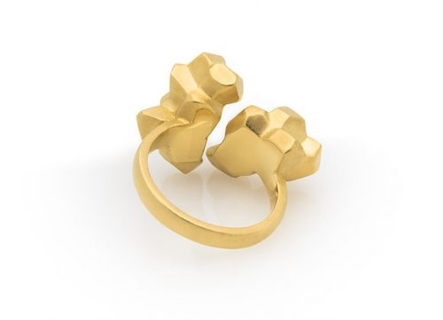 Rift x Gold ring back view