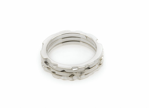TERN sterling silver ring