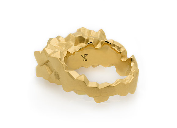 ROCA x GOLD ring side view