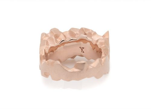 ROCA x ROSE ring back view