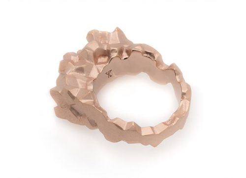 ROCA x ROSE ring alternative side view