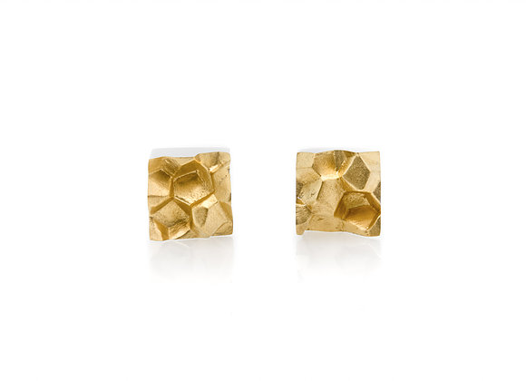 FRACTURE MINED x GOLD Contemporary earrings