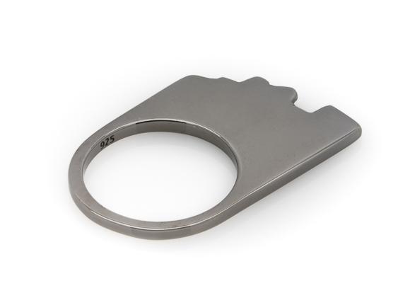 Shale black ring