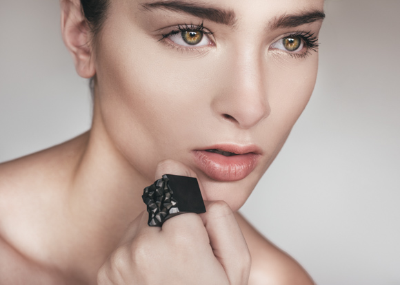 Vault Black Rhodium Ring