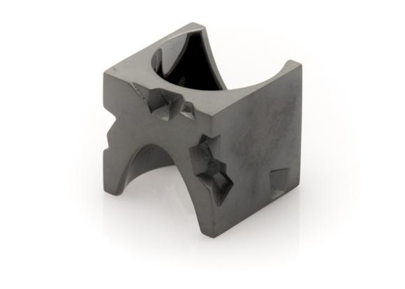 Flux Minimalist Black Ring wearable objects